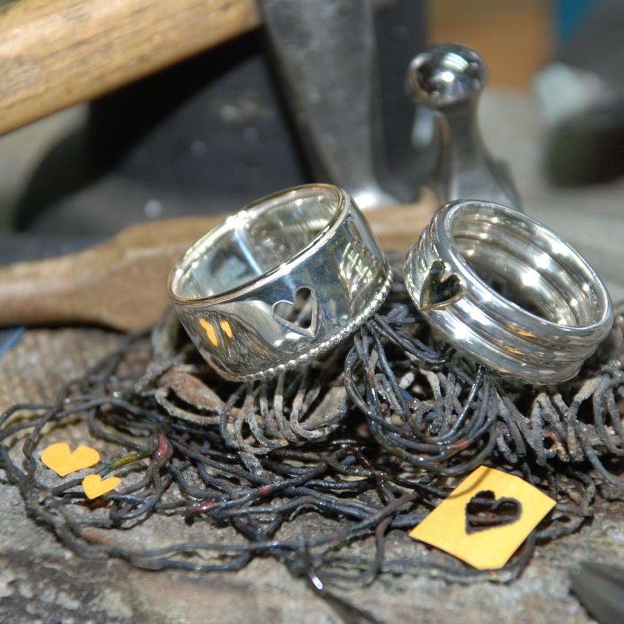 Ring mit Brillanten - Goldschmiedekurs Chiemsee Goldschmiede